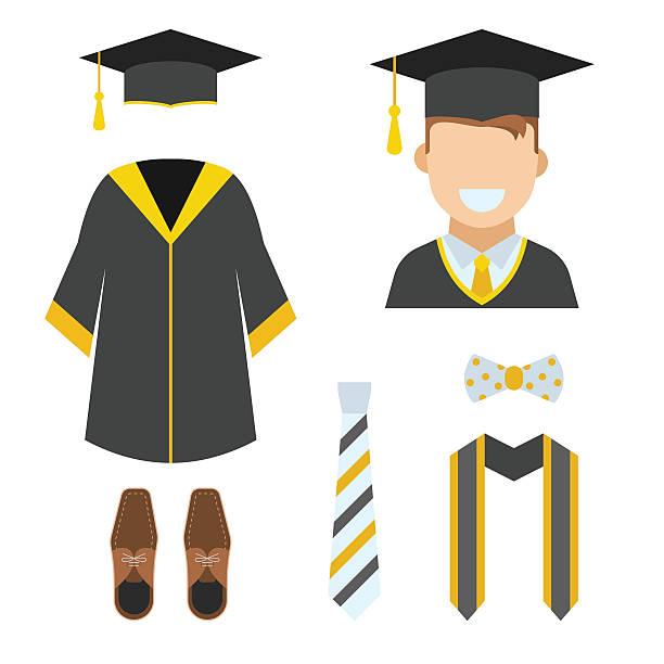 Best Graduation Gown Illustrations, Royalty.