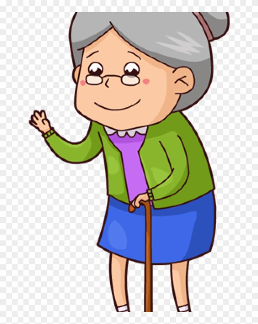 Grandmother Clipart.