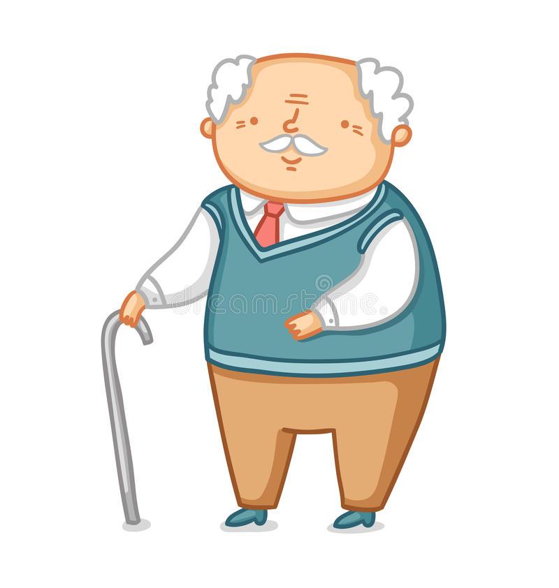 Grandpa Stock Illustrations.
