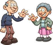Grandparents Stock Illustrations.