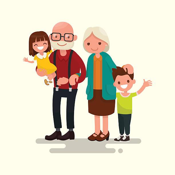 Best Grandparents Illustrations, Royalty.