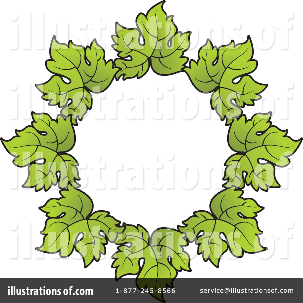 Grape Leaves Clipart #1429260.