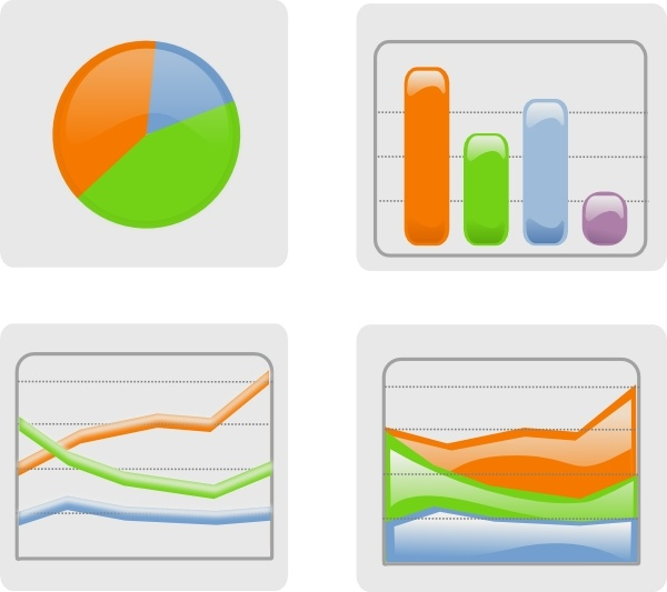 Graphs clip art Free vector in Open office drawing svg ( .svg.