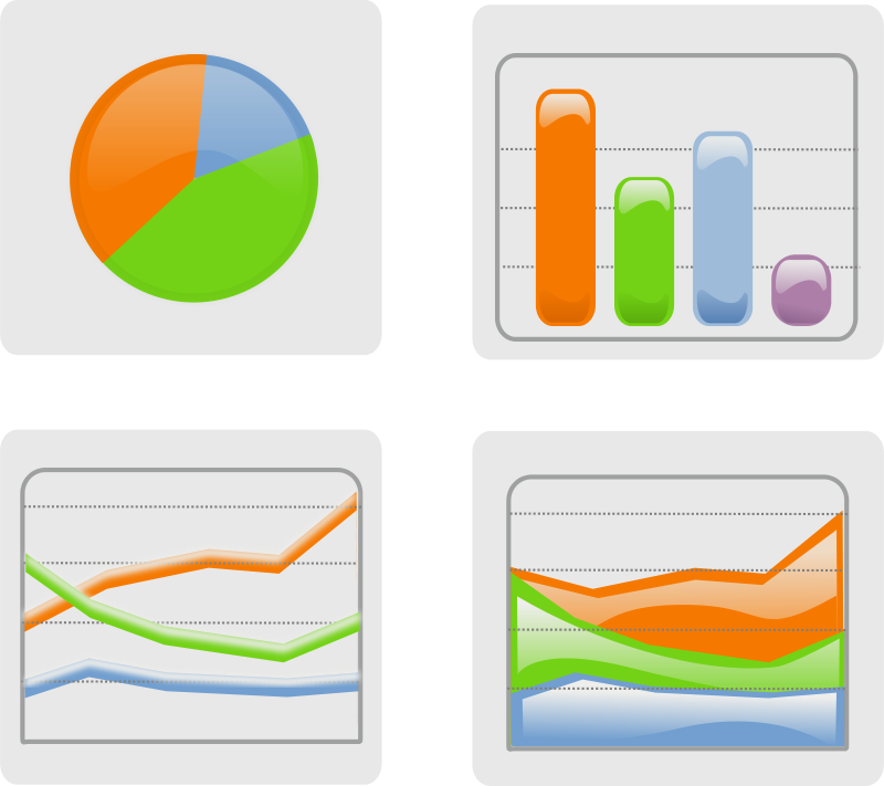 Free Clipart: Graphs.