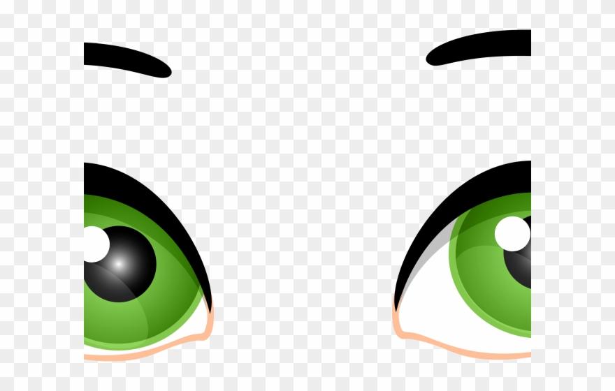 Green Eyes Clipart Transparent.