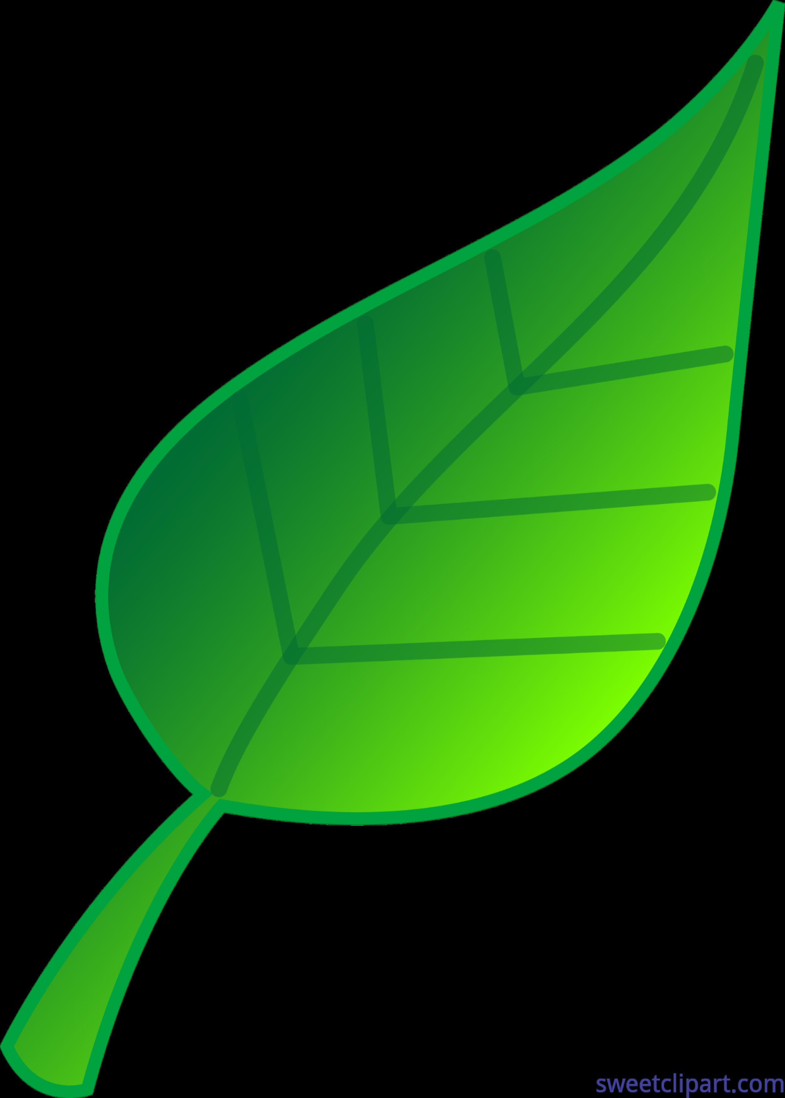 Green Leaf Clip Art.