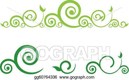 Clipart green swirls 2 » Clipart Portal.