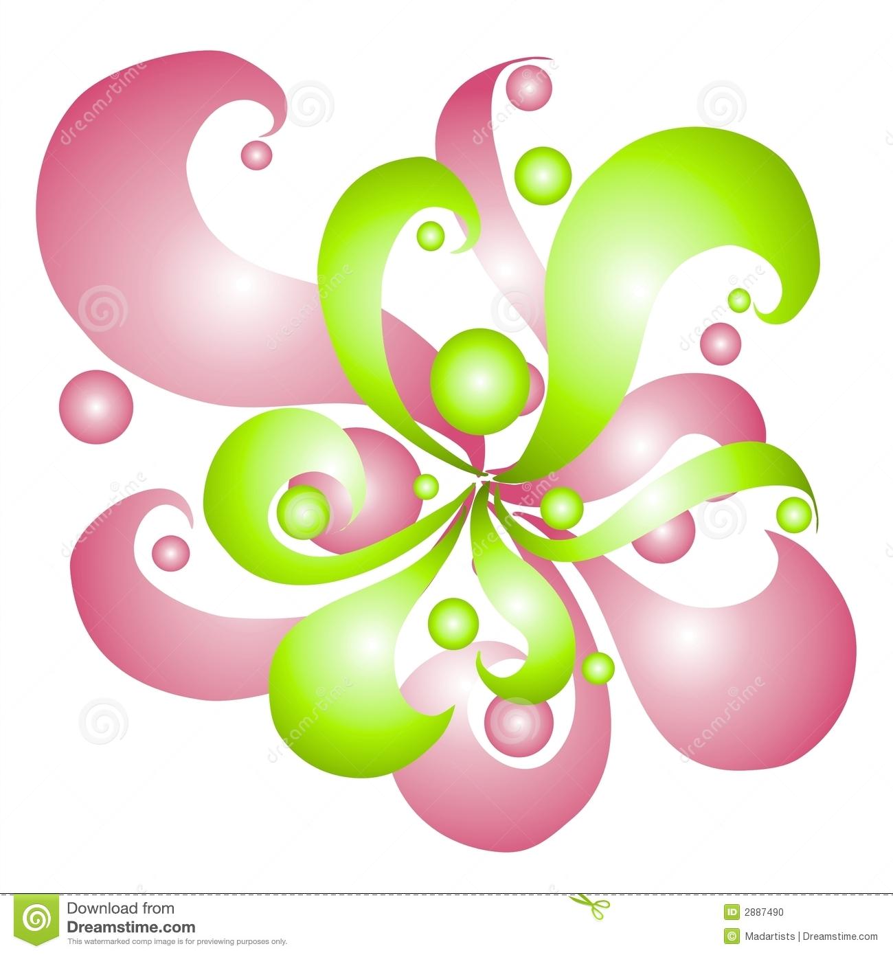 Swirls Image.