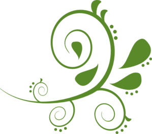 Green Paisely Swirl Clip Art at Clker.com.