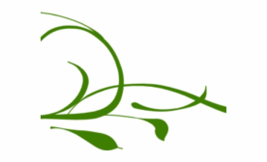 Microsoft Clipart Green Swirls.