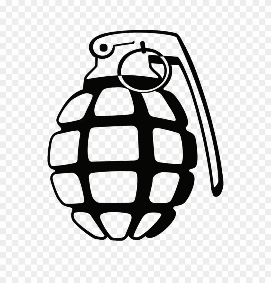 Hand Grenade Clipart Grenade Clip Art.