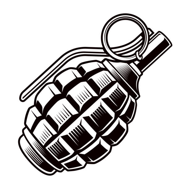 Best Hand Grenade Illustrations, Royalty.