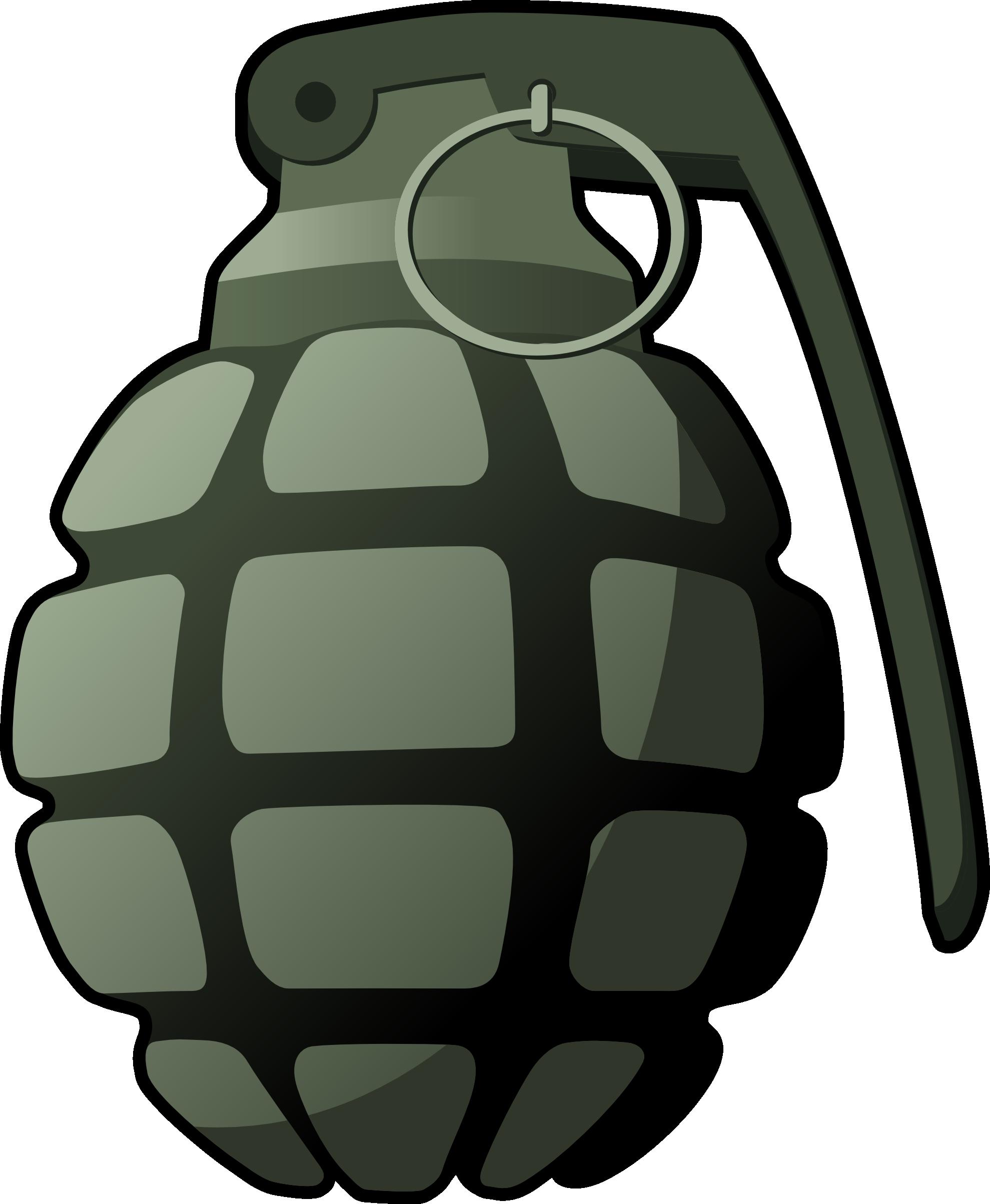 Hand Grenade Clipart.