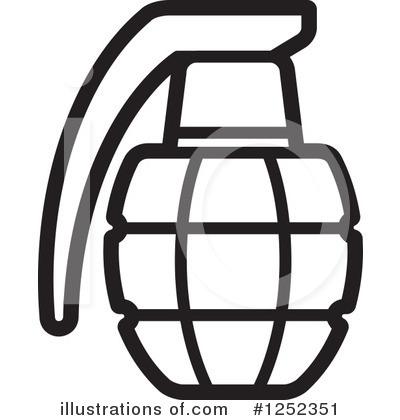 Grenade Clipart #1252351.