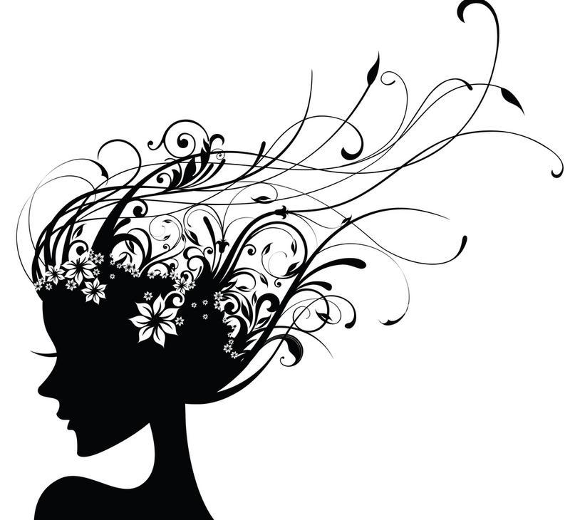 Hair Salon Drawing.