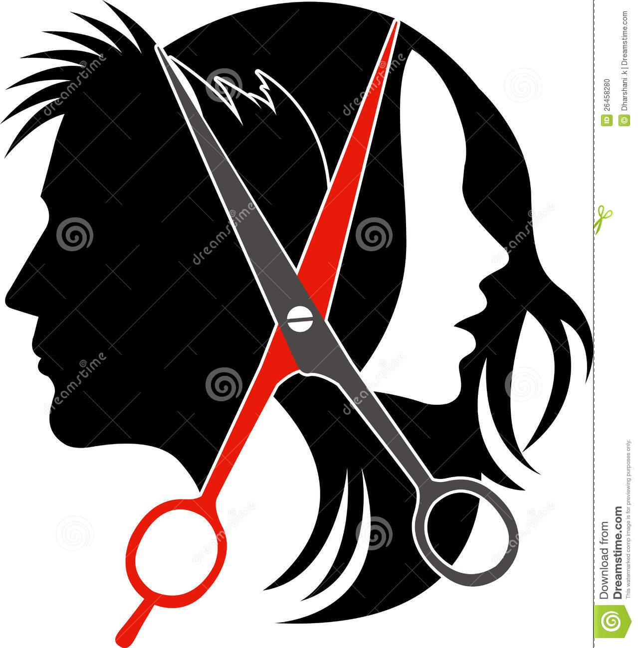 Collection of 14 free Haircut clipart unisex hair salon amusement.