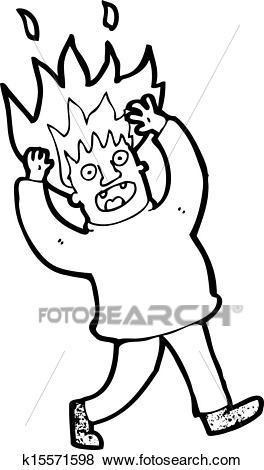 Hair on fire clipart 3 » Clipart Portal.