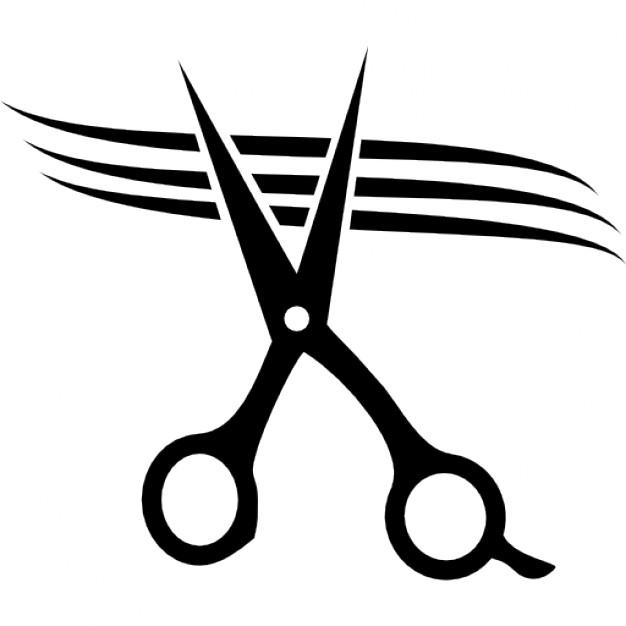 Hair Scissors Clipart.