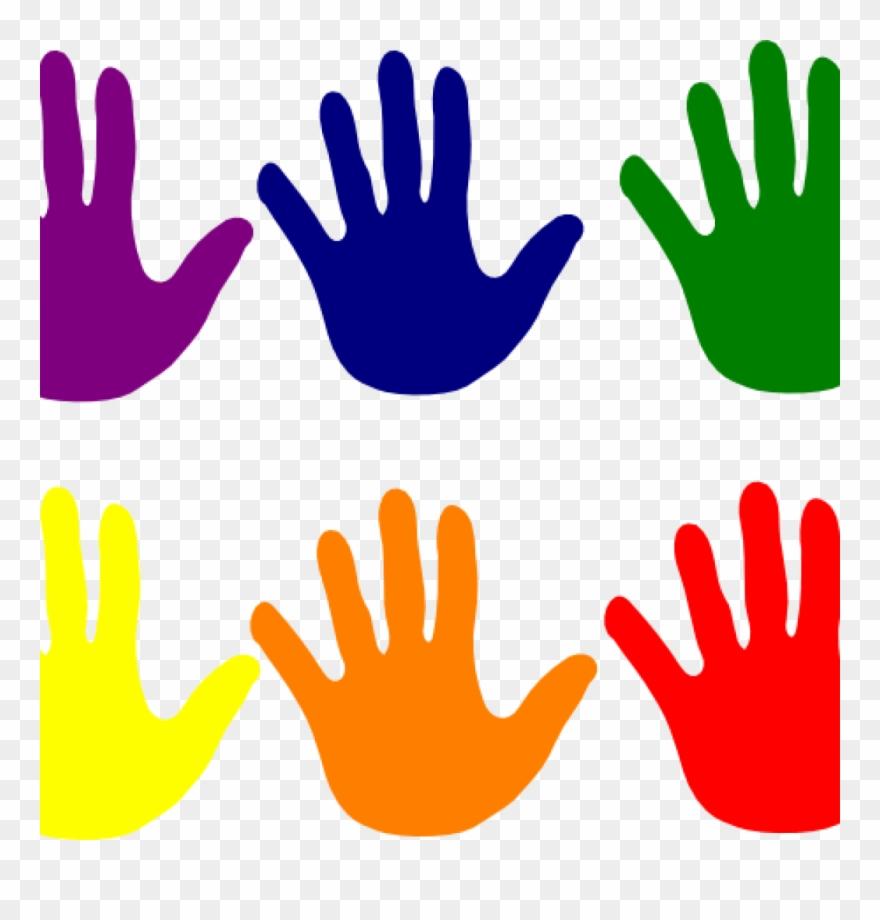 Handprint Clipart Hands Various Colors Clip Art At.