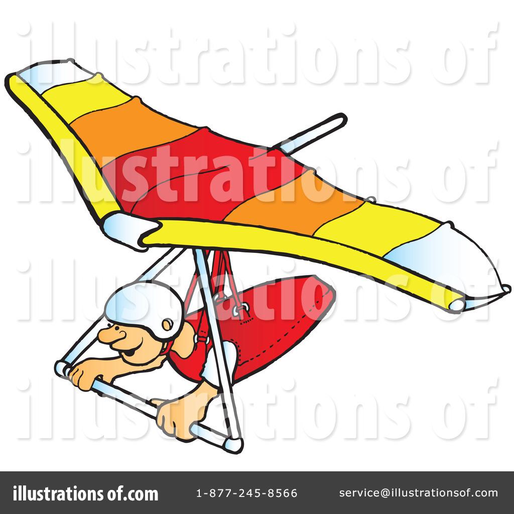 Hang Gliding Clipart #41916.