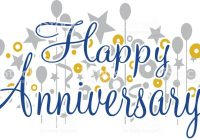 Happy Anniversary Banner Stock Vector Art More Images Of Cheap Clip.
