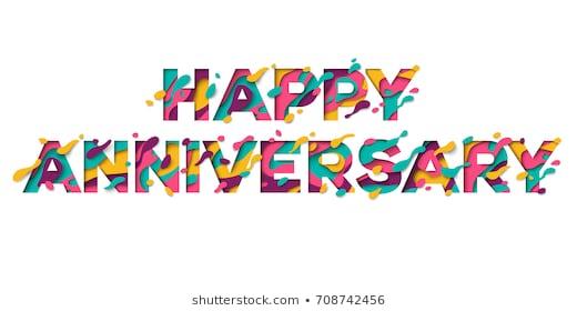 Happy Anniversary Images Stock Photos Vectors Shutterstock.