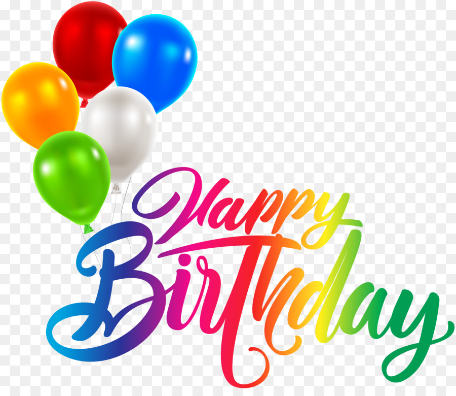 Calligraphy Happy Birthday png download.