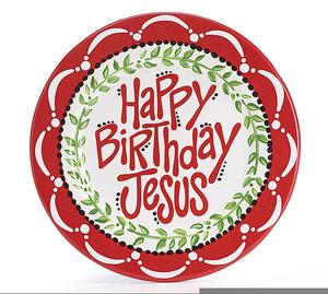 Free Happy Birthday Jesus Clipart.