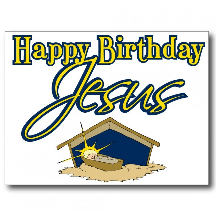 Happy birthday jesus clipart 5 » Clipart Portal.