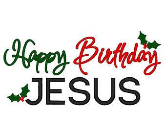 102+ Happy Birthday Jesus Clipart.