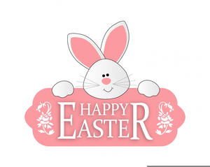 Free Animated Happy Easter Clipart.