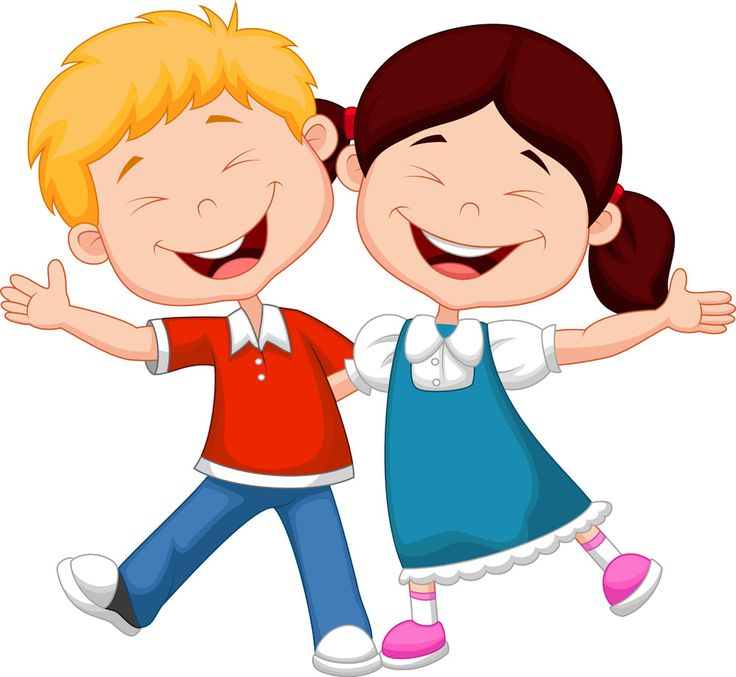 Happy kids clipart 5 » Clipart Station.