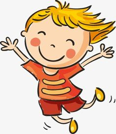 Happy Children Clipart.