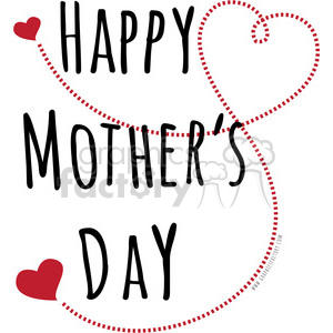 happy mothers day love clipart. Royalty.
