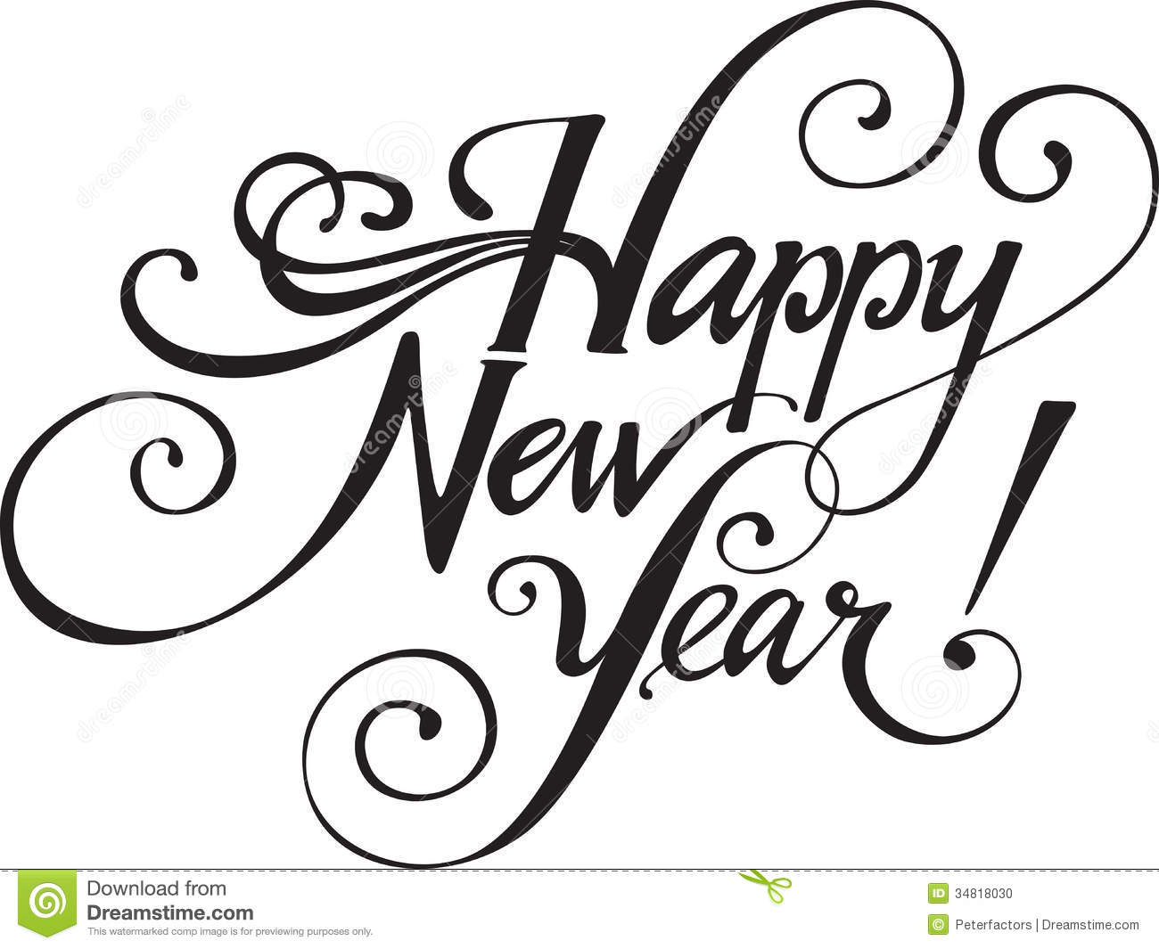 Free New Years Eve Clipart.