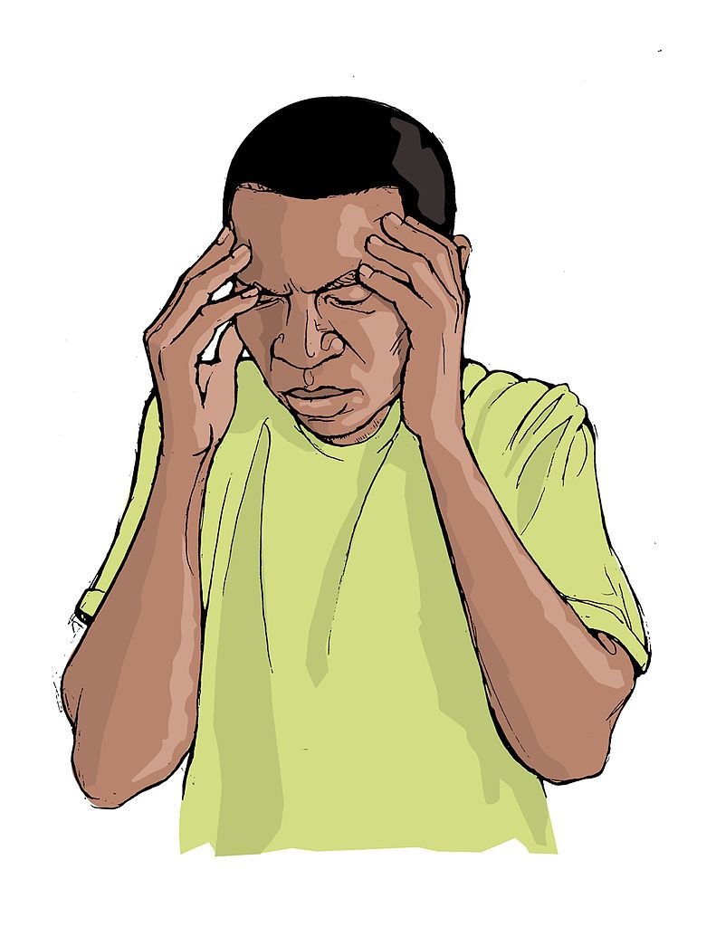 Image result for headache, clipart.