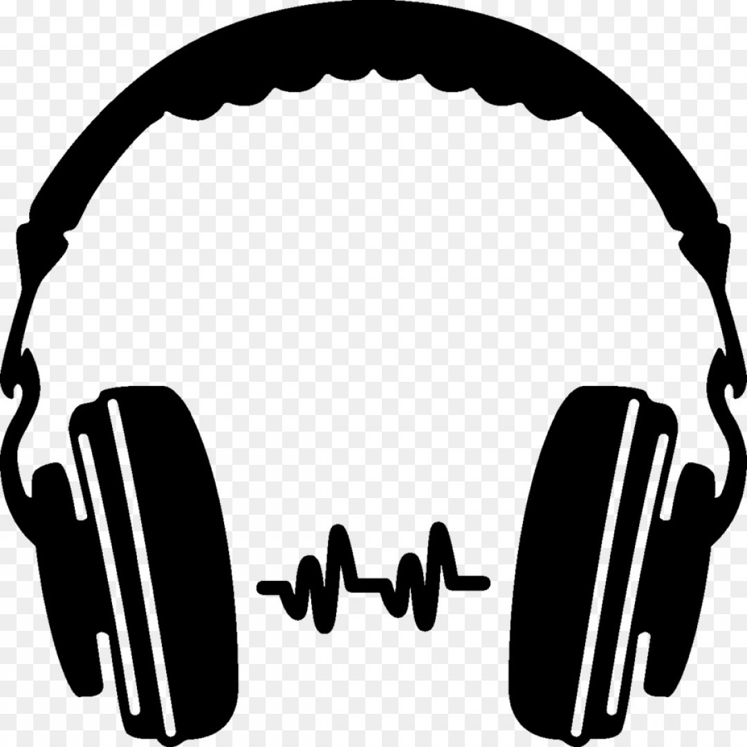 Png Headphones Silhouette Clip Art D Vector.