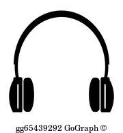 Headphones Clip Art.