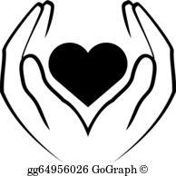 Healing Hands Clip Art.