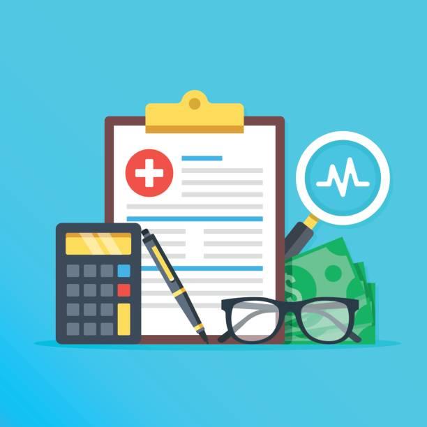 Best Health Insurance Illustrations, Royalty.
