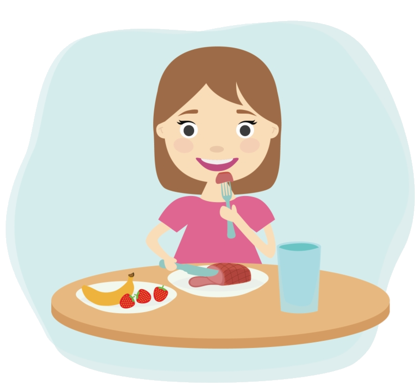Eating Breakfast Child Clip Art Healthy Foods Clipart Png.
