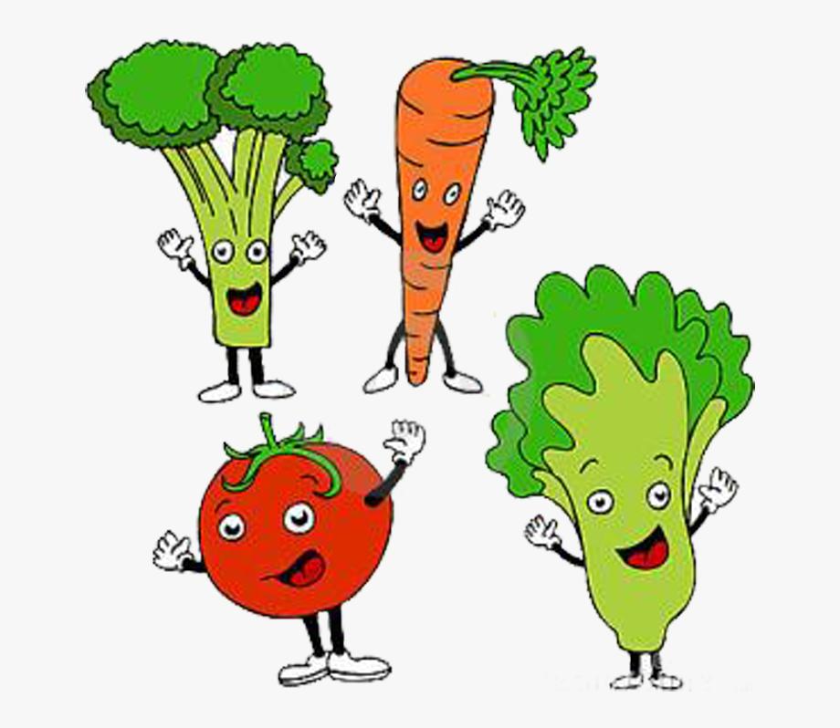 Food Diet Cartoon Clip Art Vegetables Ⓒ.