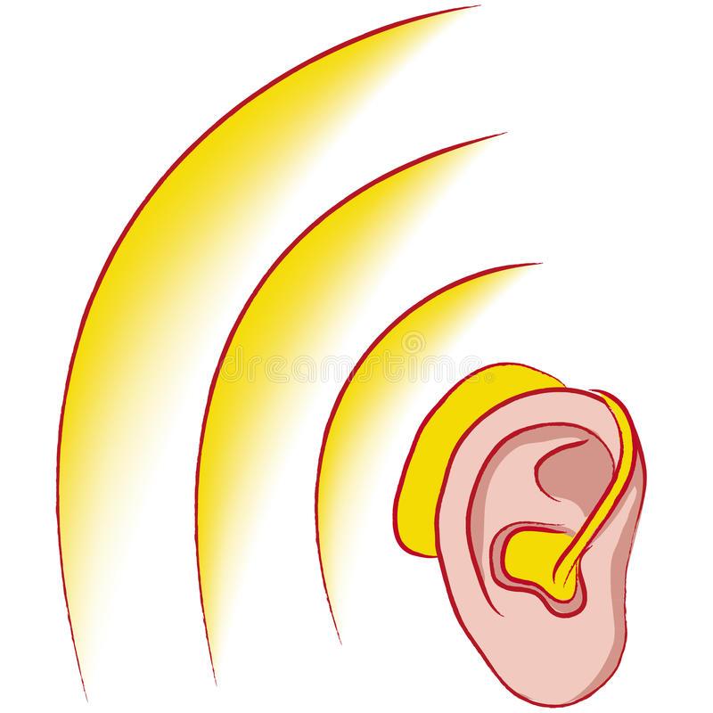 Hearing Aid Stock Illustrations.