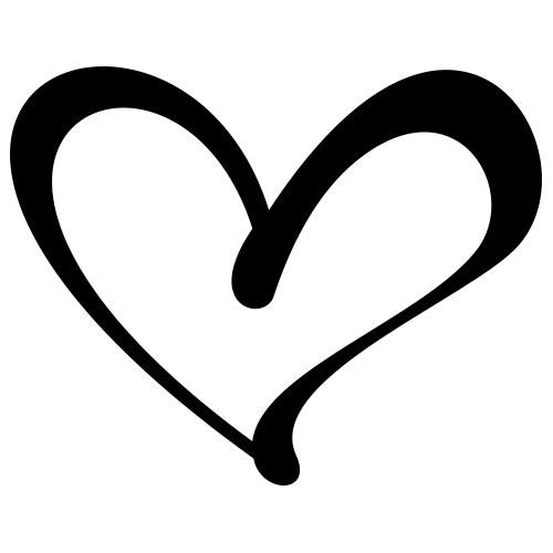 Heart clip art book.