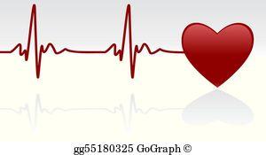 Heartbeat Clip Art.