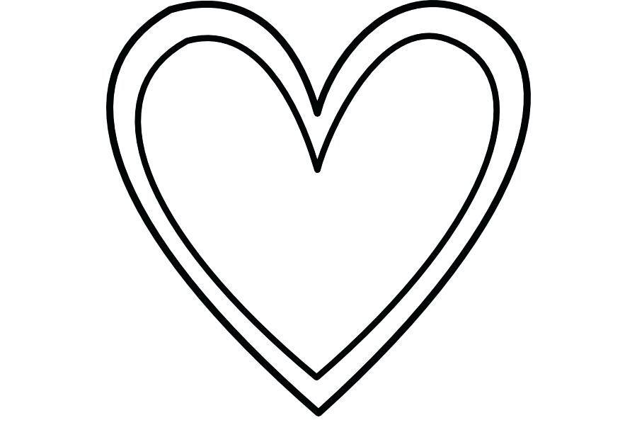 Black and white clipart heart 2 » Clipart Station.