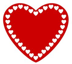 Free clipart valentine hearts 1 » Clipart Station.