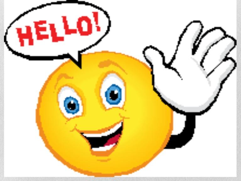 Clip Art Hello Smile   Clipart Free Download.
