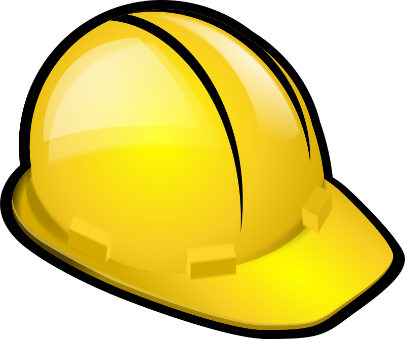 Free Clipart: Safety helmet.