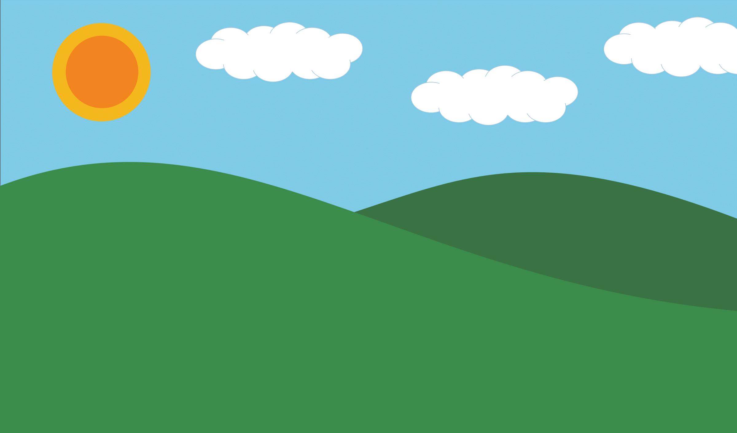 Cartoon Hills Cliparts.